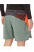 The North Face M's Better Than Naked Long Haul Short Laurel Wreath Green/Power Orange